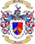 Mac Hail Family Crest from Ireland
