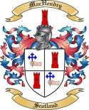 Mac Hendry Family Coat of Arms from Scotland2