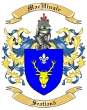 Mac Hinzie Family Coat of Arms from Scotland