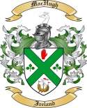 Mac Hugh Family Crest from Ireland