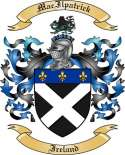 Mac Ilpatrick Family Coat of Arms from Ireland