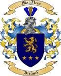 Mac Ilrea Family Coat of Arms from Ireland