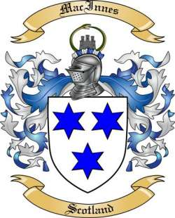 Mac Innes Family Crest from Scotland