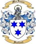 Mac Innes Family Coat of Arms from Scotland