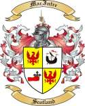 Mac Intre Family Crest from Scotland