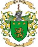 Mac Keady Family Crest from Ireland