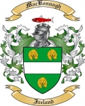 Mac Kennagh Family Coat of Arms from Ireland