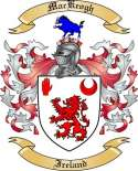 Mac Keogh Family Coat of Arms from Ireland