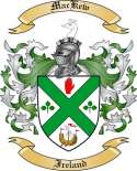 Mac Kew Family Coat of Arms from Ireland