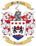 Mac Kewan Family Coat of Arms from Ireland