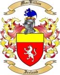 Mac Killan Family Crest from Ireland