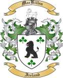 Mac Killen Family Coat of Arms from Ireland