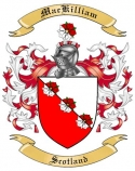 Mac Killiam Family Crest from Scotland