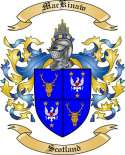 Mac Kinaw Family Coat of Arms from Scotland