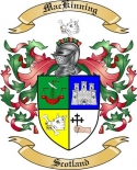 Mac Kinning Family Crest from Scotland