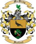 Mac Kirdy Family Crest from Scotland