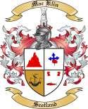 Mac Klin Family Coat of Arms from Scotland