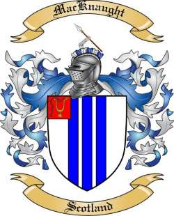 Mac Knaught Family Coat of Arms from Scotland