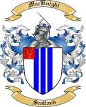 Mac Knight Family Crest from Scotland