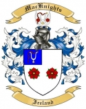 Mac Knights Family Coat of Arms from Ireland