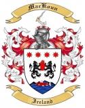 Mac Koun Family Crest from Ireland
