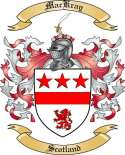 Mac Kray Family Coat of Arms from Scotland2