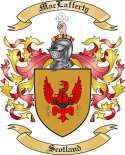 Mac Lafferty Family Crest from Scotland