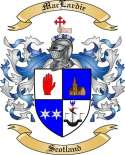 Mac Lardie Family Coat of Arms from Scotland2