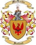 Mac Lardie Family Crest from Scotland