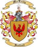 Mac Lardy Family Coat of Arms from Scotland