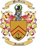 Mac Laren Family Crest from Scotland