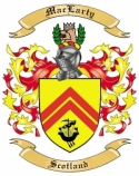Mac Larty Family Coat of Arms from Scotland