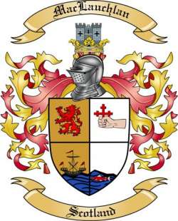 Mac Lauchlan Family Coat of Arms from Scotland