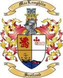 Mac Laughlin Family Coat of Arms from Scotland