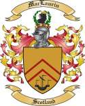 Mac Laurin Family Crest from Scotland
