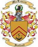 Mac Lawrin Family Crest from Scotland