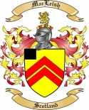 Mac Leish Family Coat of Arms from Scotland