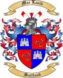 Mac Leoid Family Crest from Scotland