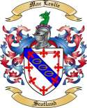 Mac Leslie Family Crest from Scotland