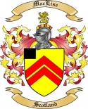 Mac Lise Family Coat of Arms from Scotland