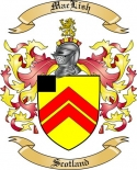 Mac Lish Family Coat of Arms from Scotland