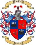 Mac Loud Family Crest from Scotland