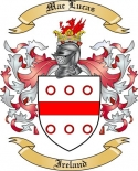 Mac Lucas Family Coat of Arms from Ireland