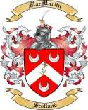 Mac Martin Family Crest from Scotland
