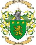 Mac Moare Family Crest from Ireland