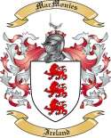 Mac Monies Family Coat of Arms from Ireland