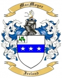 Mac Moyer Family Coat of Arms from Ireland