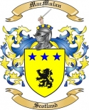 Mac Mulan Family Coat of Arms from Scotland2