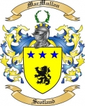Mac Mullan Family Crest from Scotland