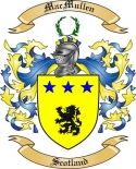 Mac Mullen Family Coat of Arms from Scotland